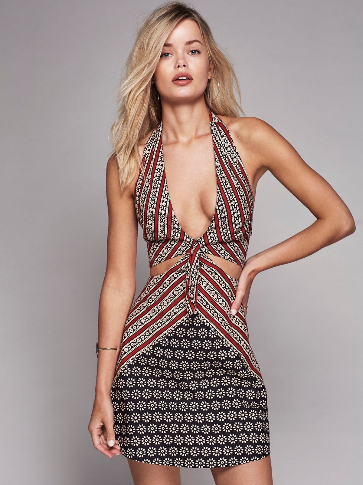 Heat It Up Printed Dress