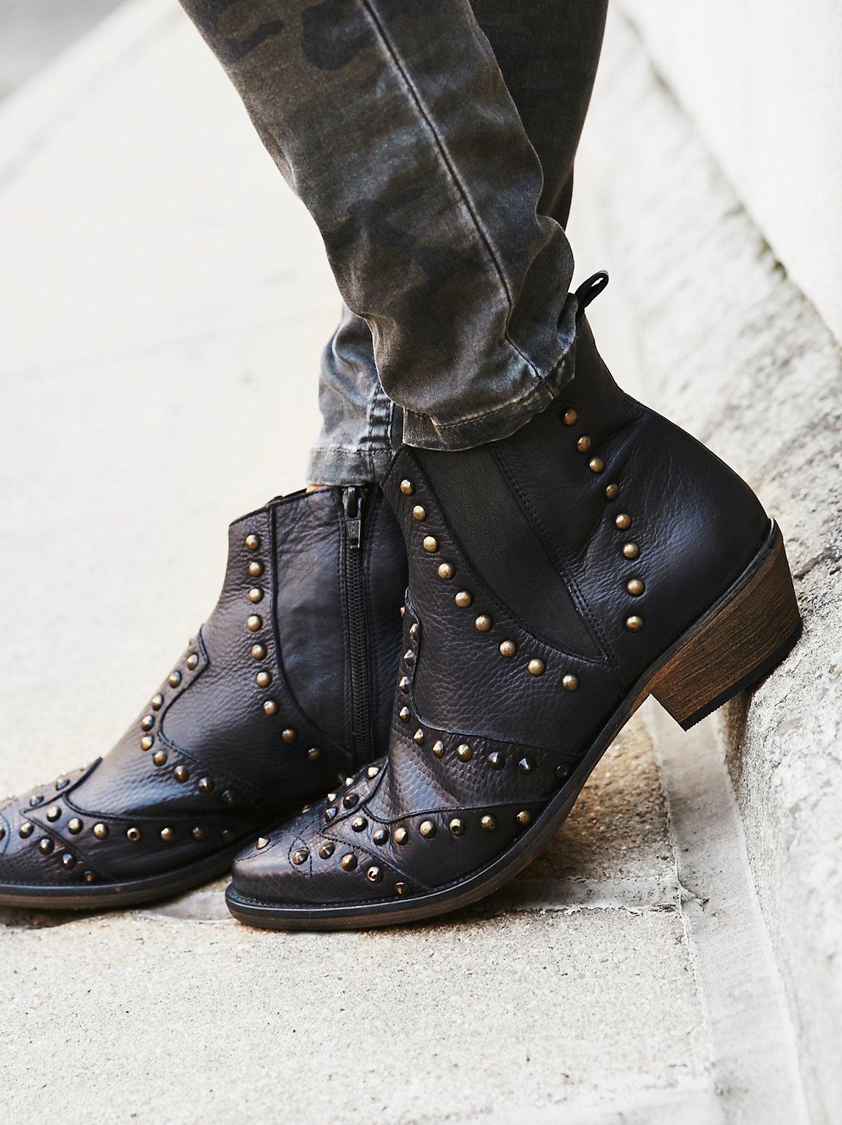 Jones Studded Western Boot