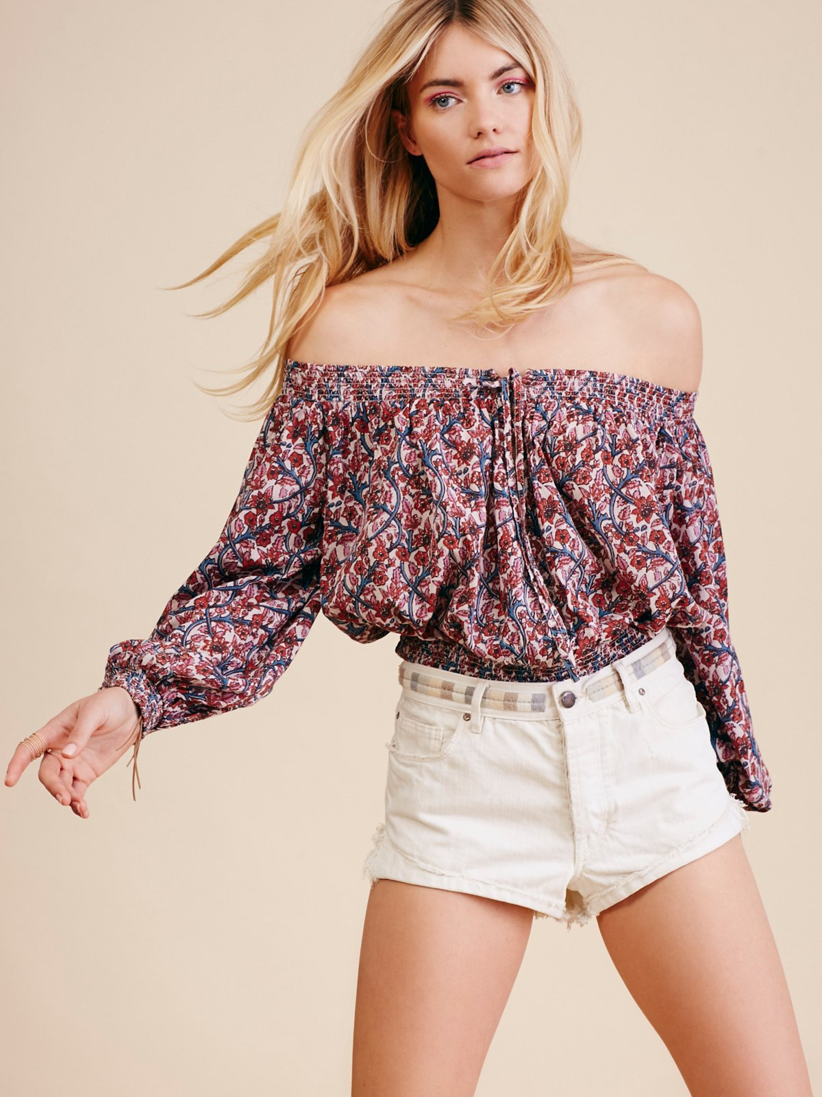 Anything Goes Off the Shoulder Top