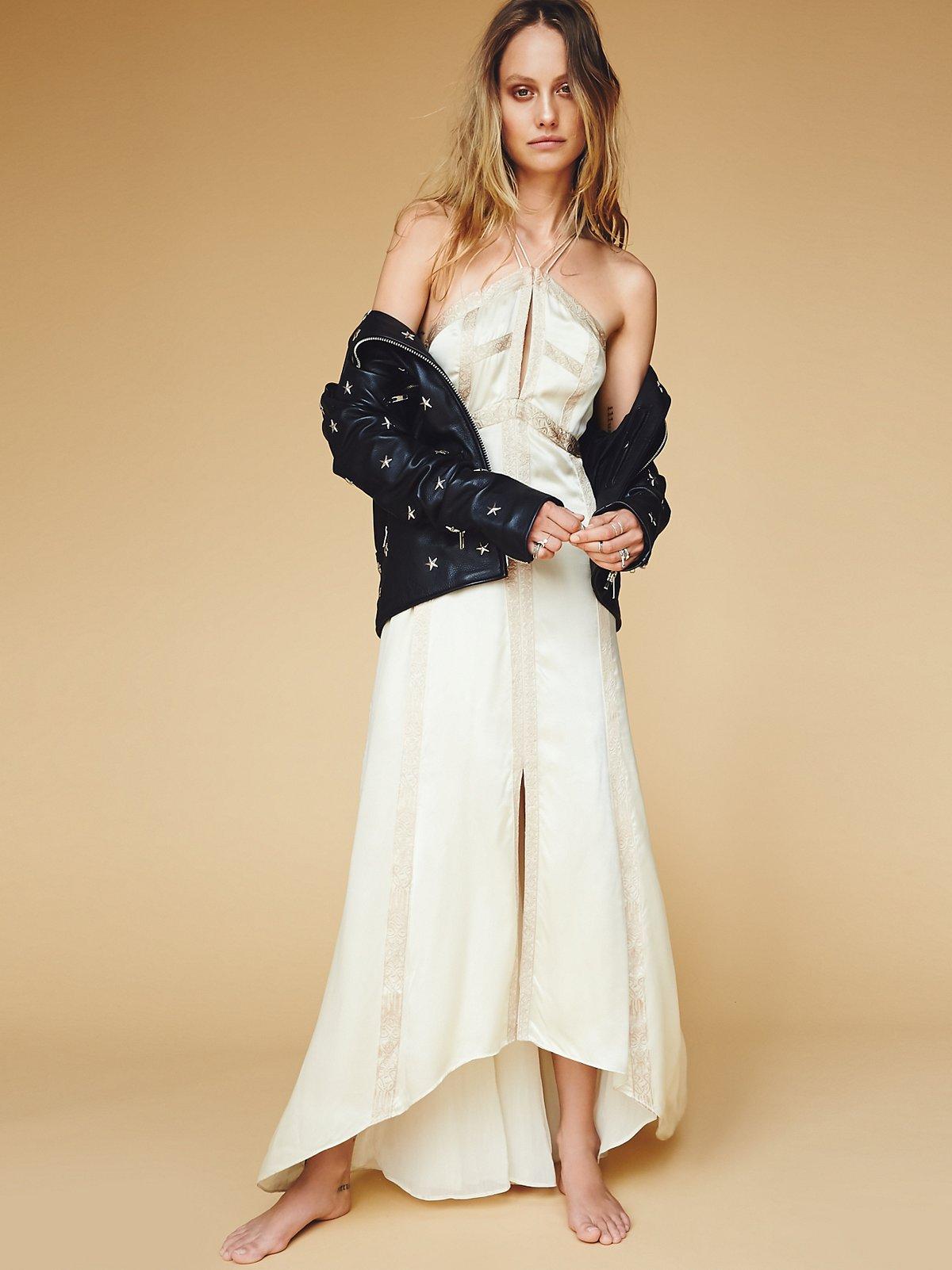 Moonbeams Silk Dress