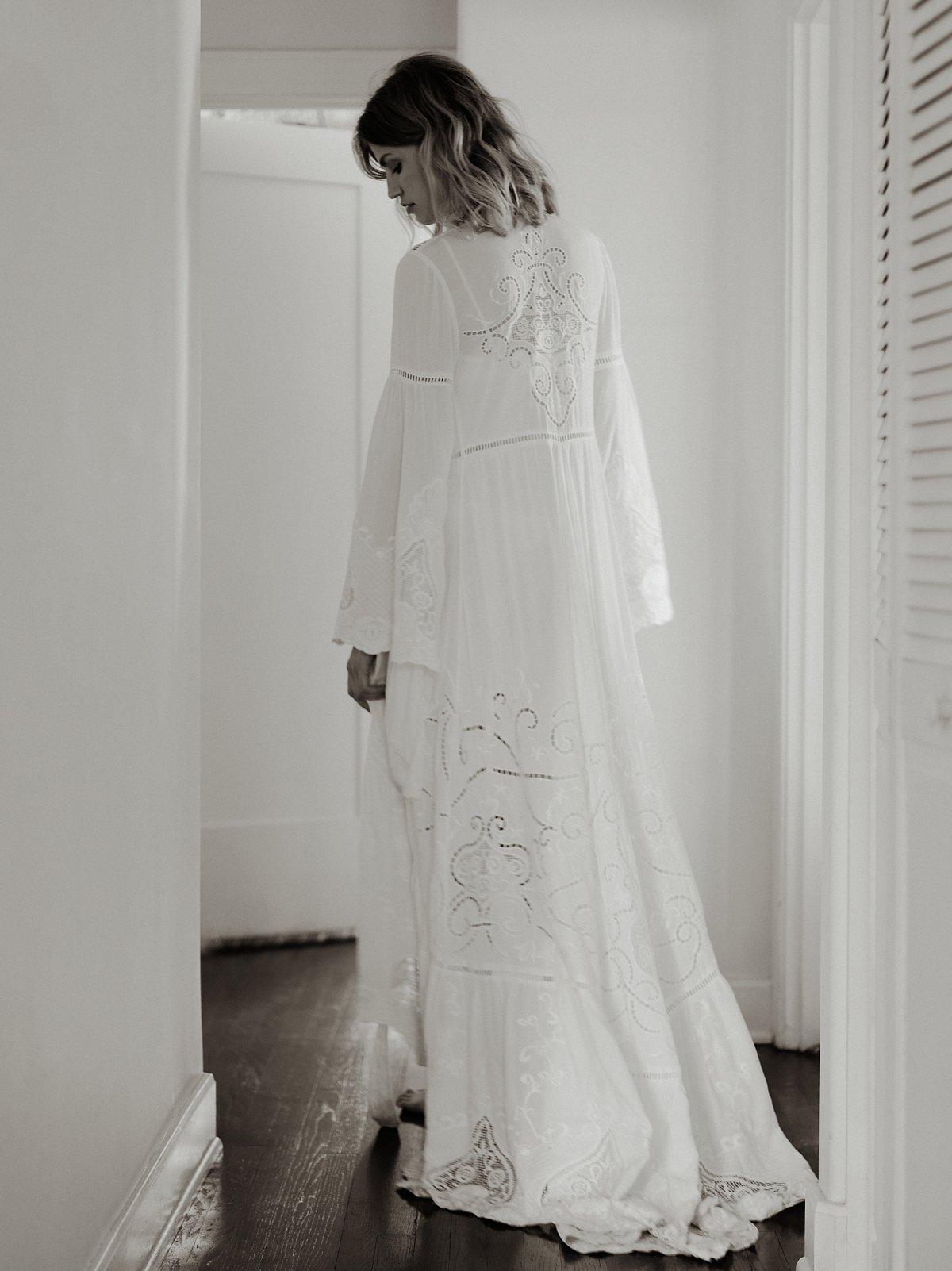 Gwendolyn围裹式礼服