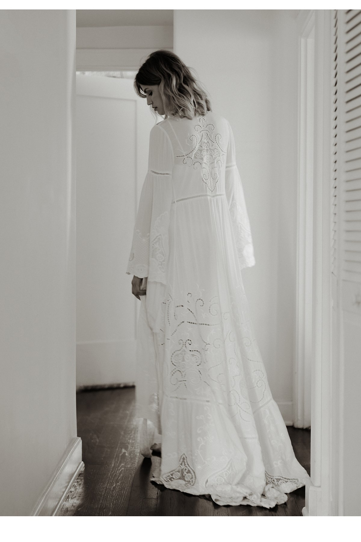 Gwendolyn Wrap Gown