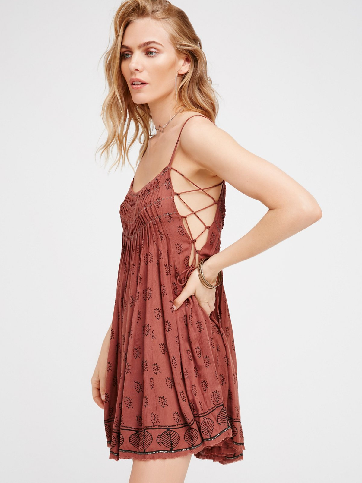 FP One Imperial Pintuck Dress