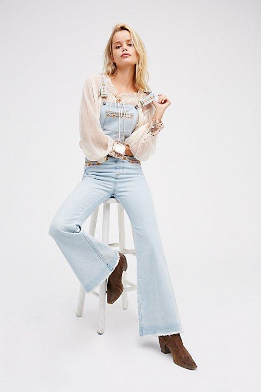 Product Image: Azalea刺绣工装裤