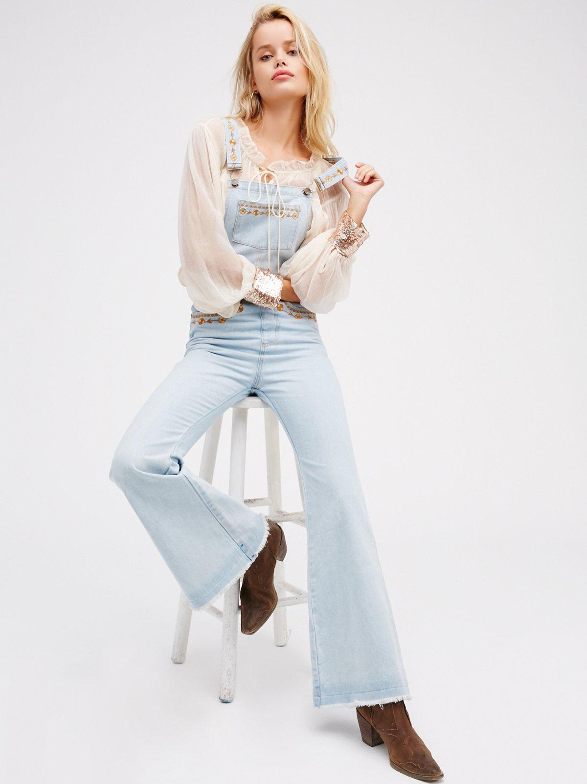 Azalea刺绣工装裤