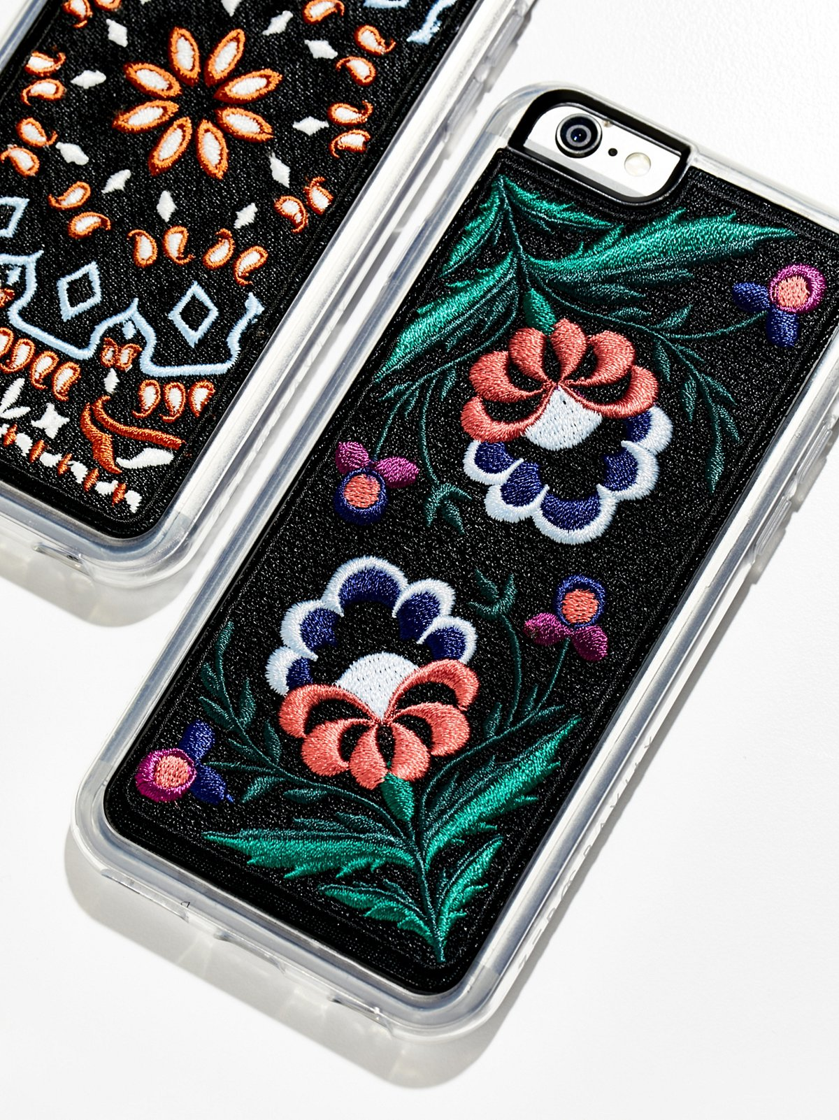 刺绣iPhone手机壳