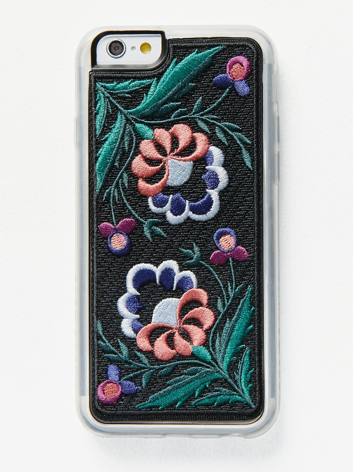 Embroidered iPhone Case