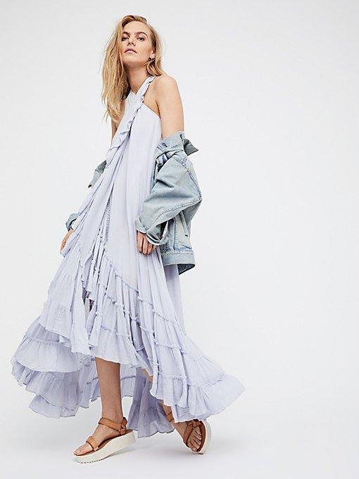 Product Image: 围裹式长连衣裙