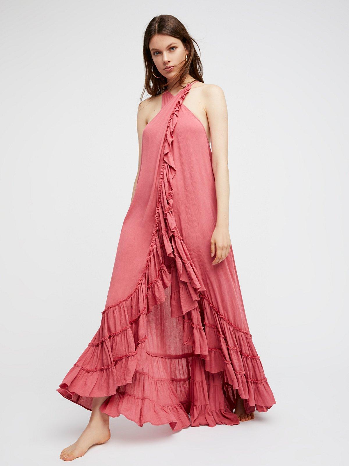 Wrap Around Maxi Dress