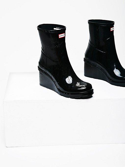 Product Image: 狩猎风格坡跟雨靴