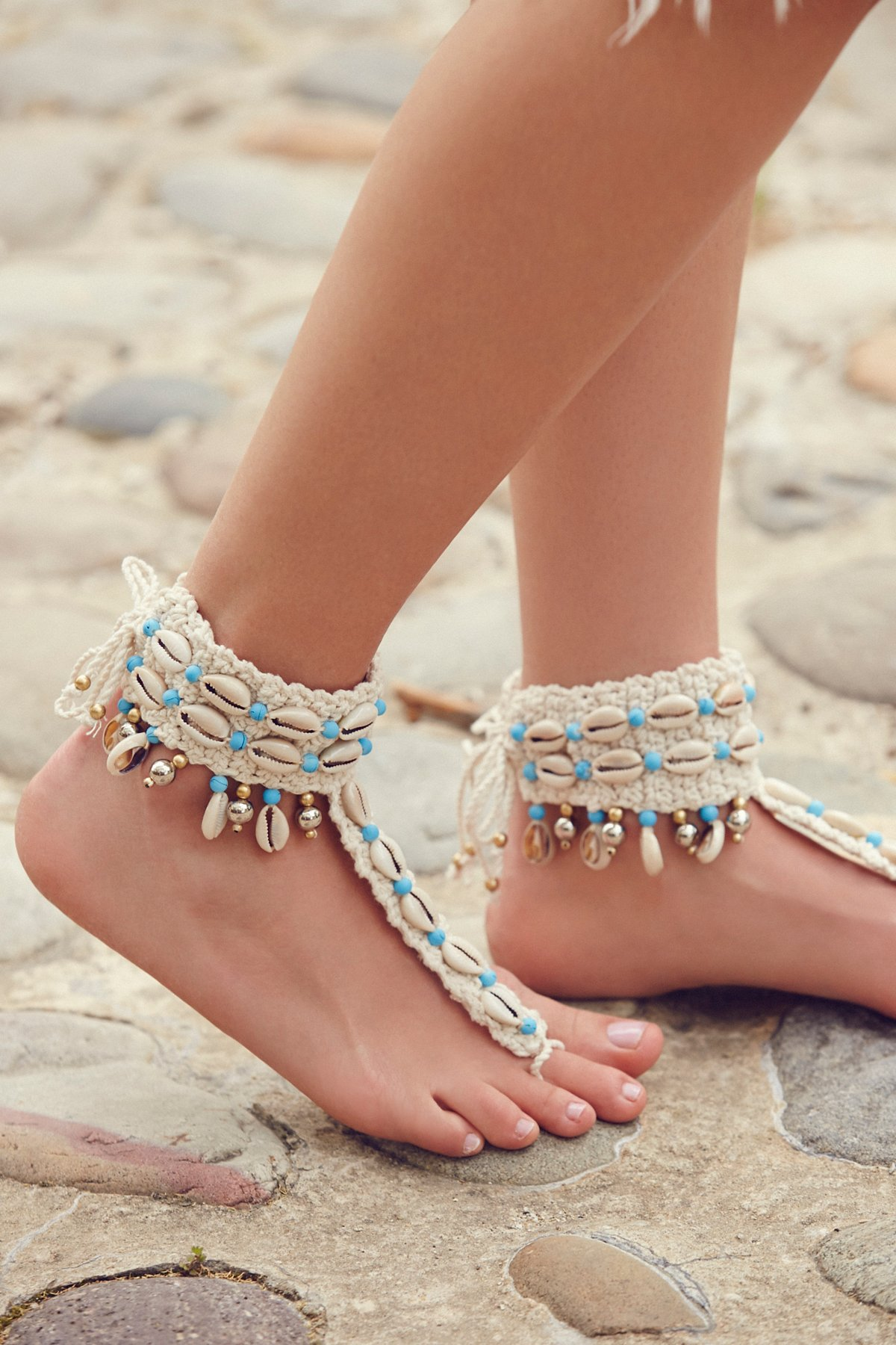 High Seas Shell Barefoot Sandal