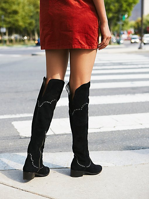 Product Image: Cara Eyelet Over The Knee Boot