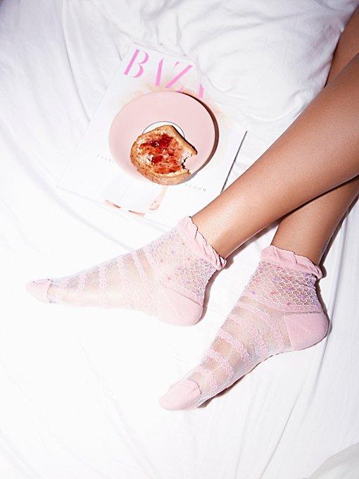 Product Image: Confetti透视短筒袜