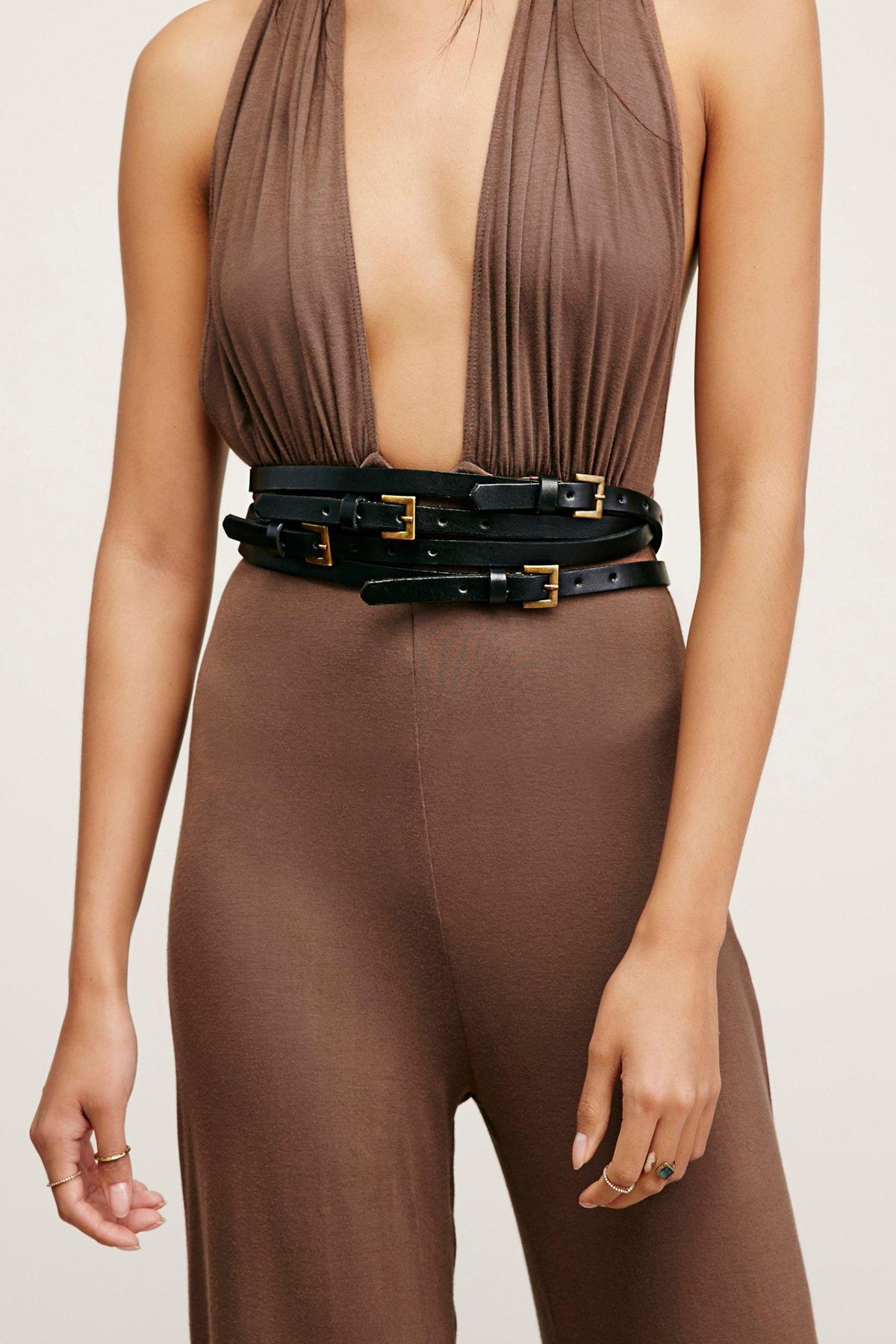 Elena Stacked Belt