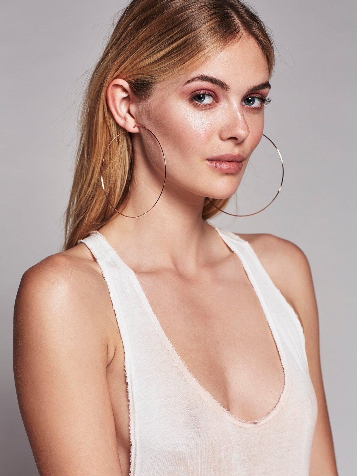 Mega Hoop Earring