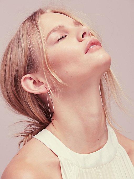Product Image: Threader Hoop Earring