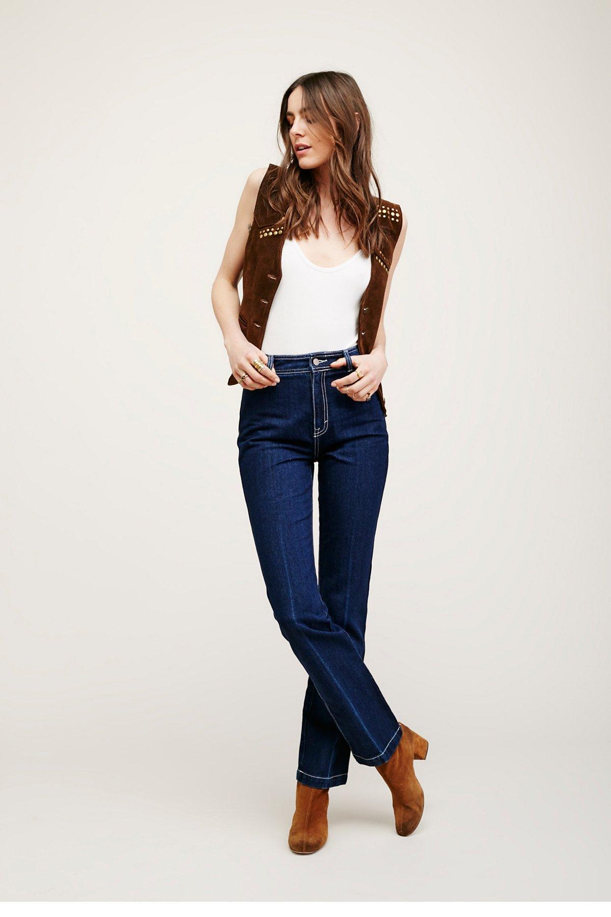 Chrissie High Rise Straight Leg
