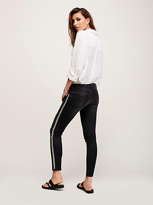 Product Image: Black Studded Skinny Jeans