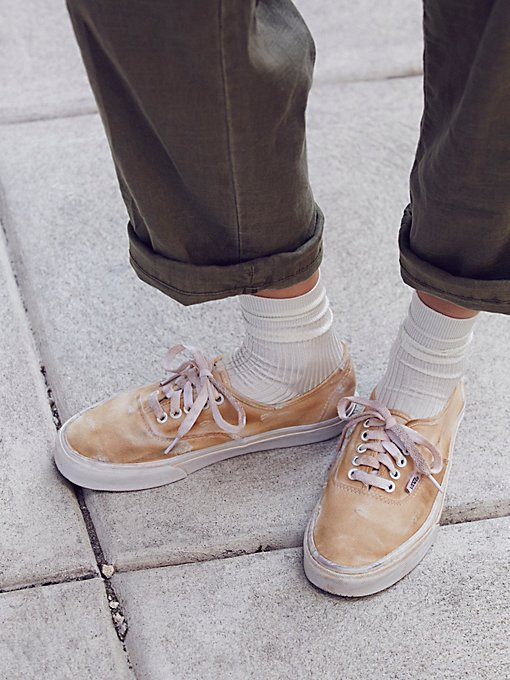 Product Image: Hand-Dyed Authentic Low Sneakers