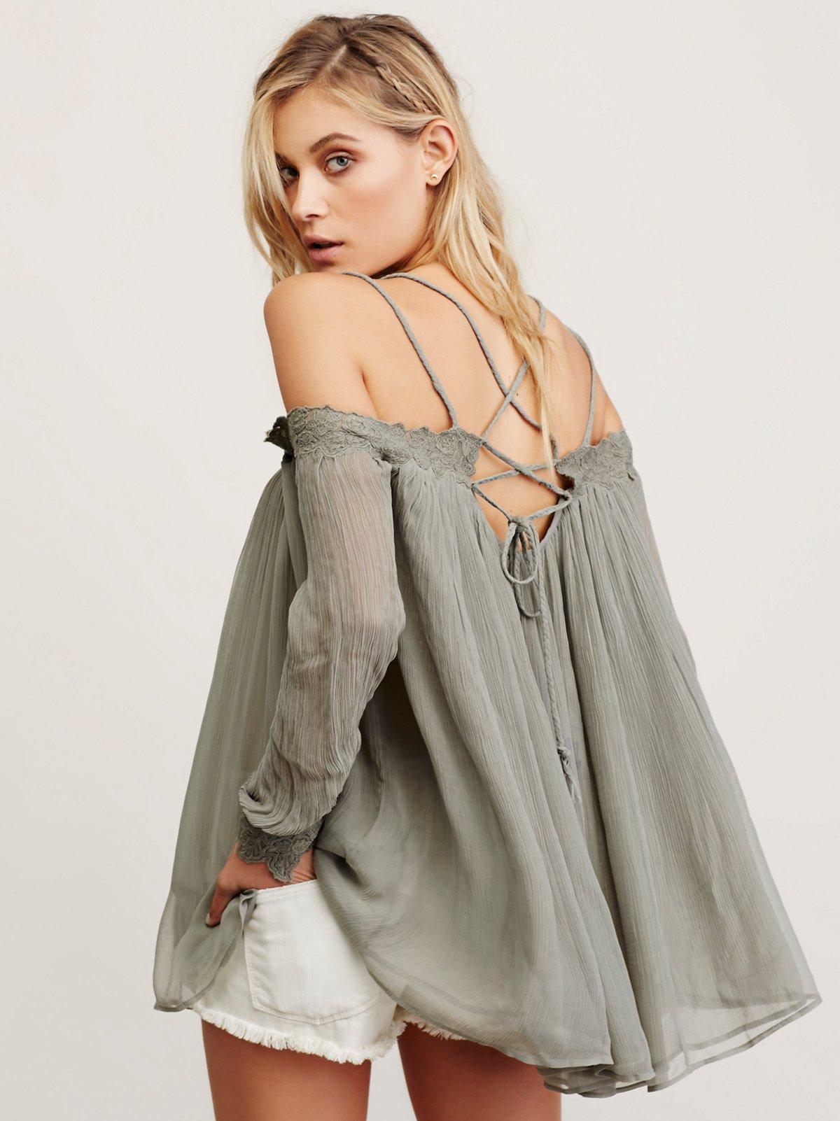 Farrah雪纺裙衫