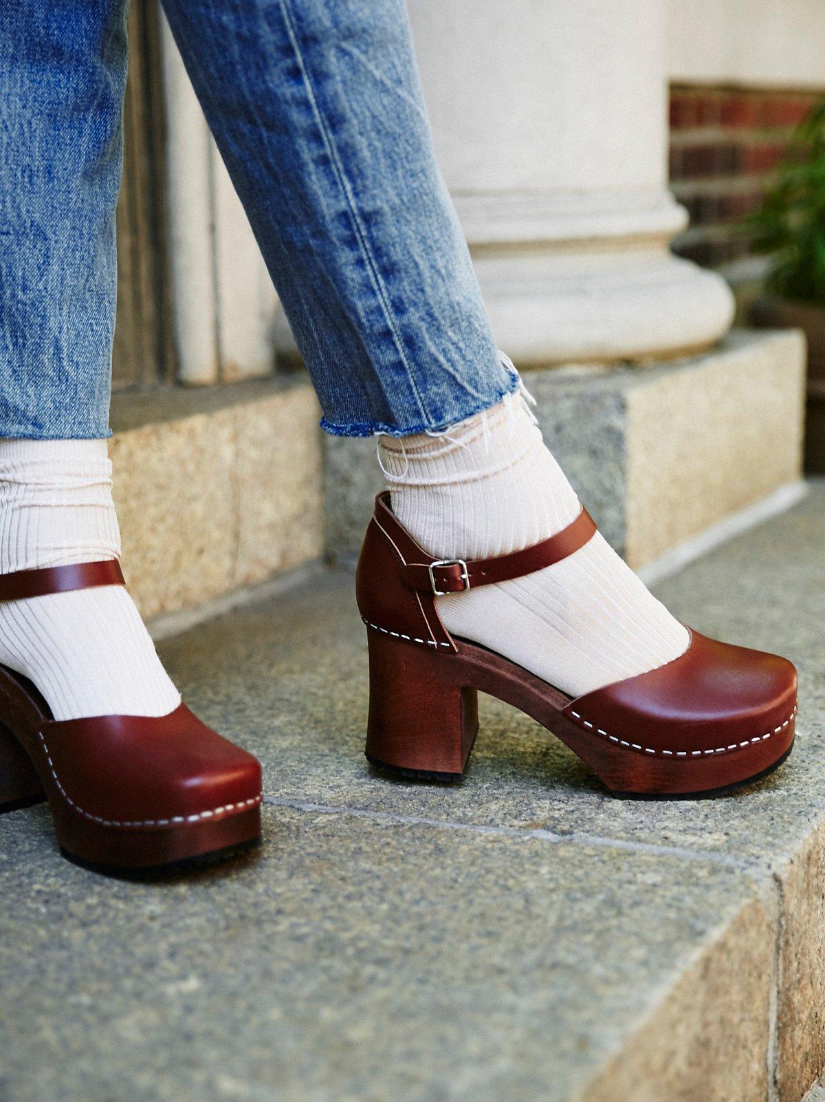 Inga木底鞋