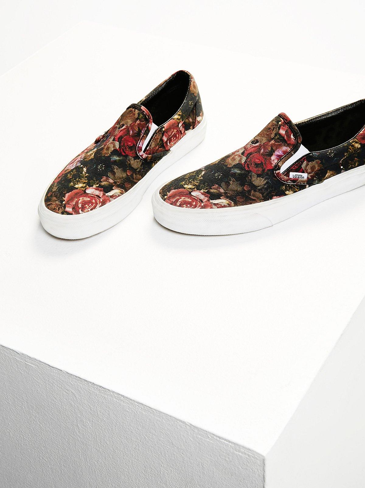 Moody印花套穿式运动鞋