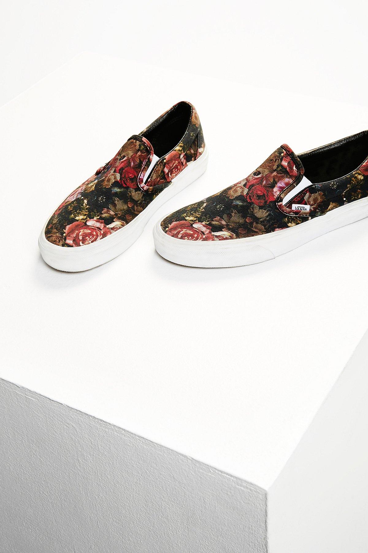 Moody Floral Slip-On Sneaker