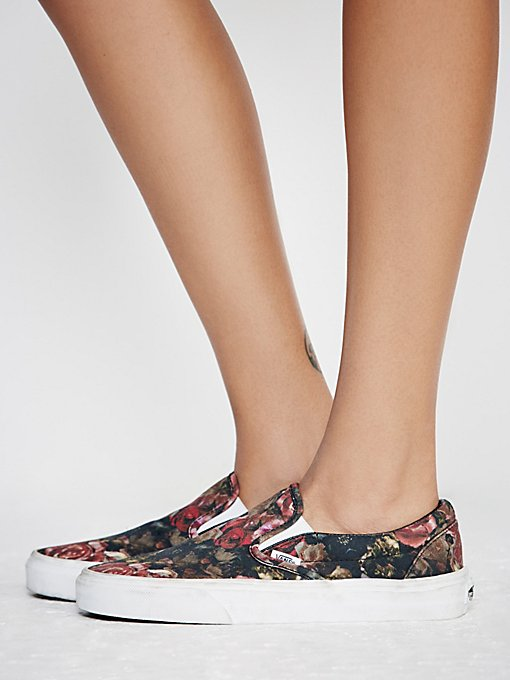 Product Image: Moody Floral Slip-On Sneaker