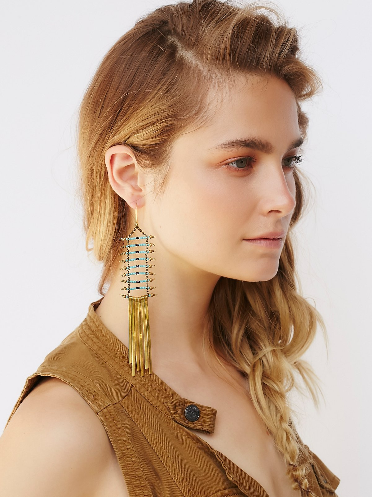 Tribe Ladder Earring