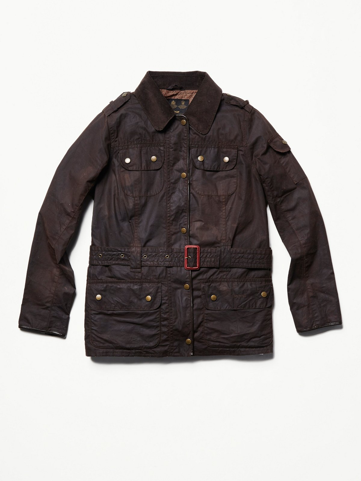 Vintage Waxed Barbour Jacket