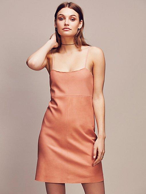 Product Image: Leather Mini Dress
