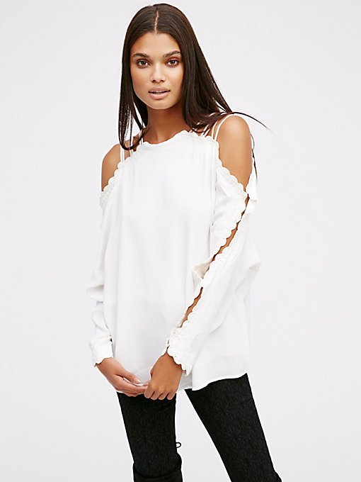 Product Image: Another Love Cold Shoulder Top
