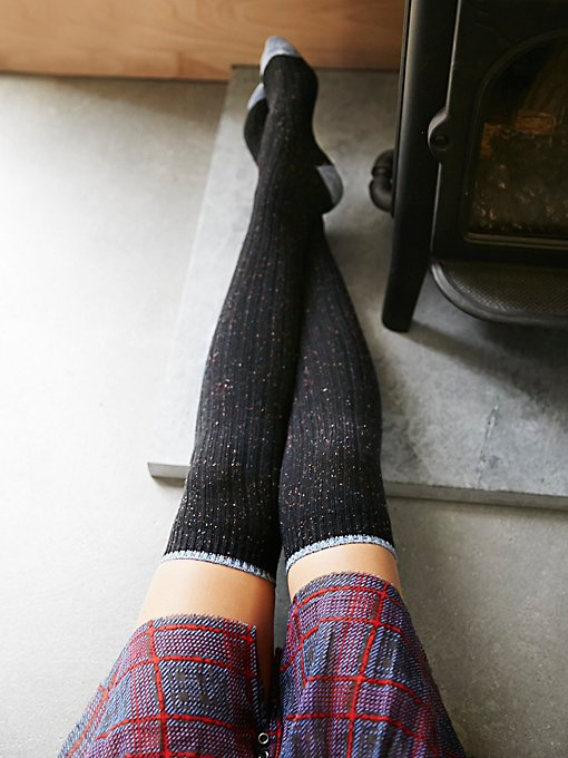 Product Image: Falling Leaves Over the Knee Sock
