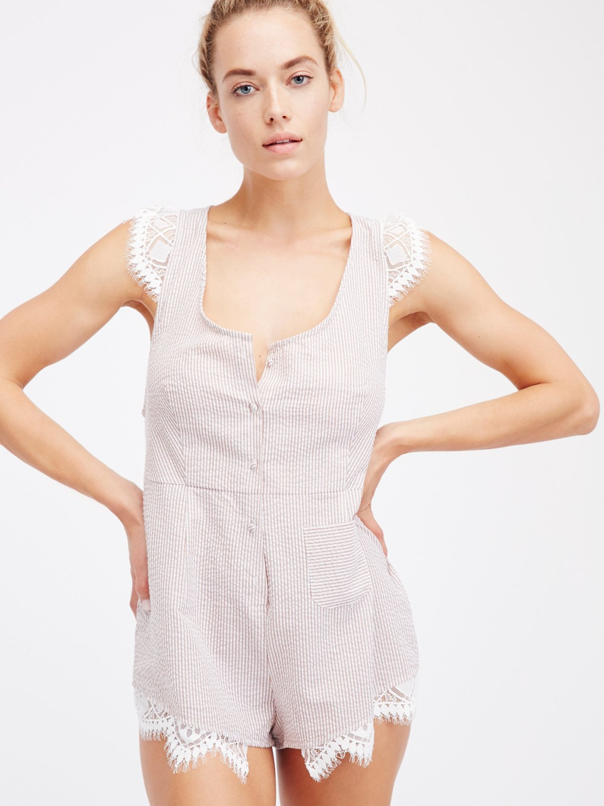 Emmy Sleeper Romper