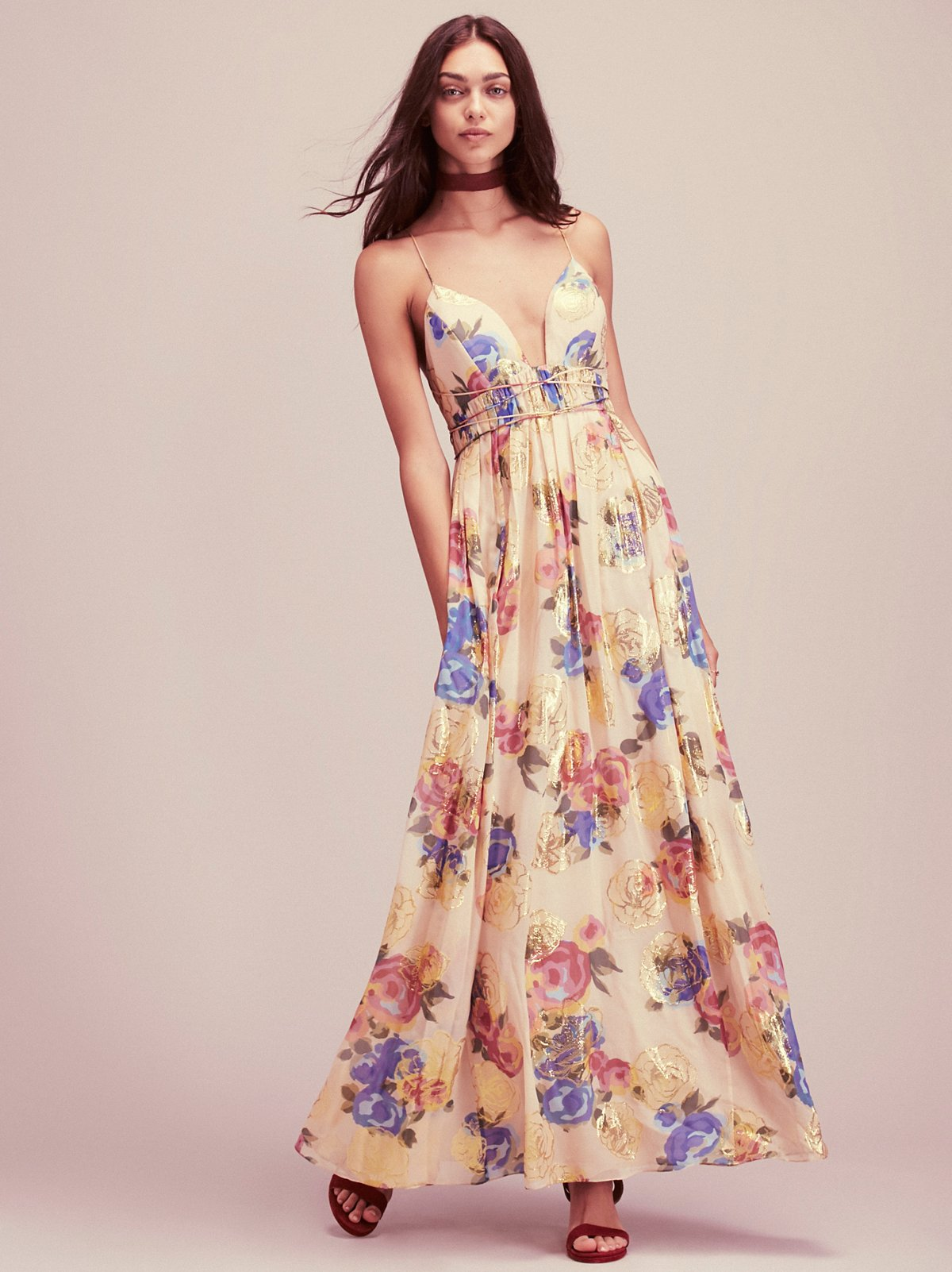 Shadows Printed Gown