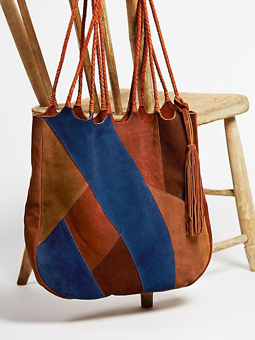 Product Image: Decades Patched Tote