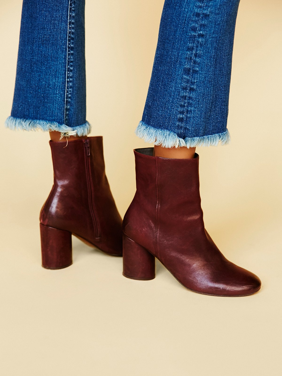 Lotus Ankle Boot