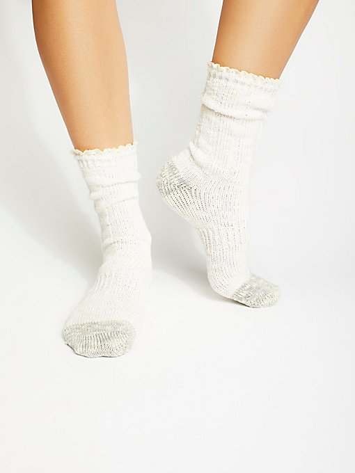 Product Image: Melbourne Heathered Crew Socks
