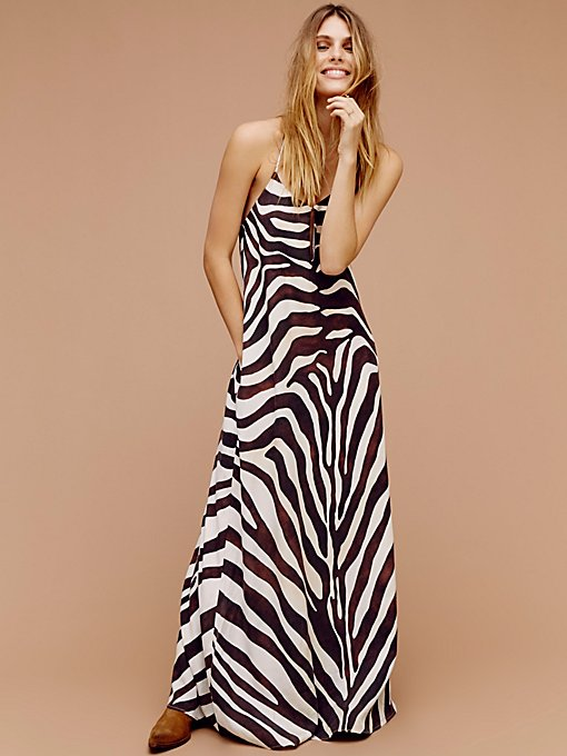 Product Image: Zebra Maxi Dress