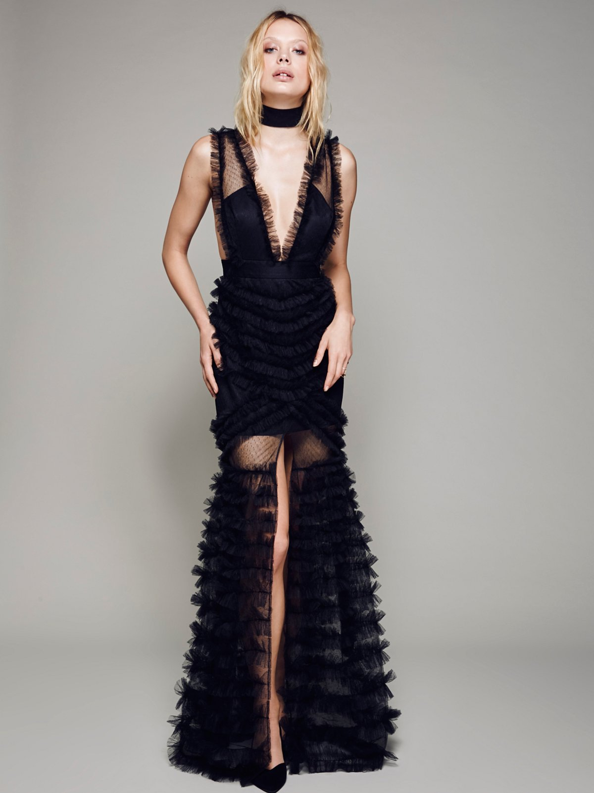 All Black Everything Gown