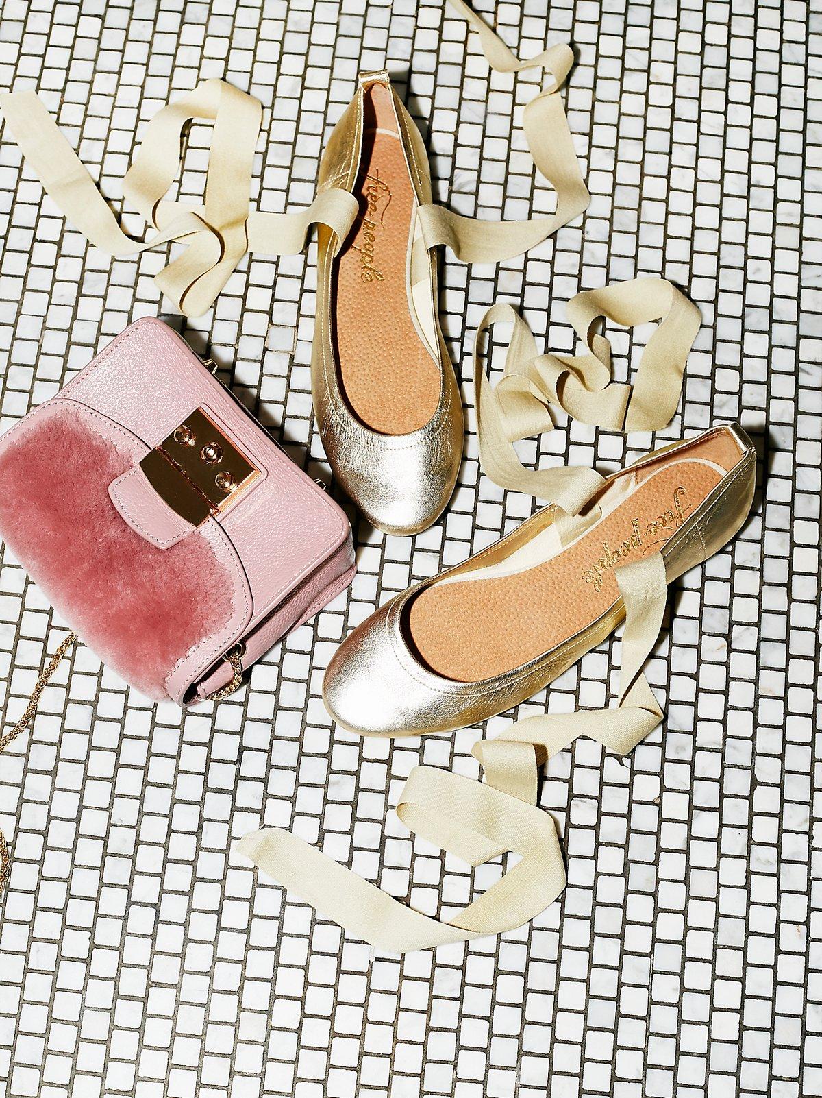 Degas芭蕾平底鞋