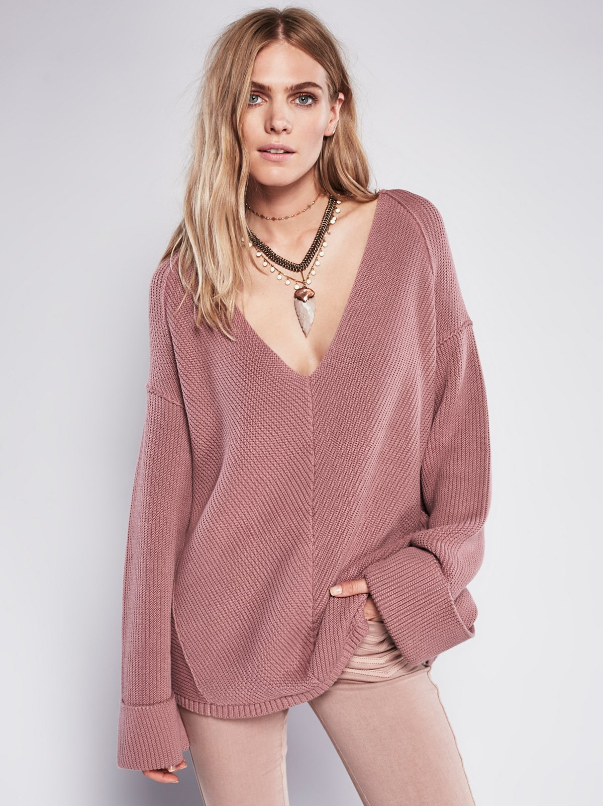 La Brea V-Neck Sweater