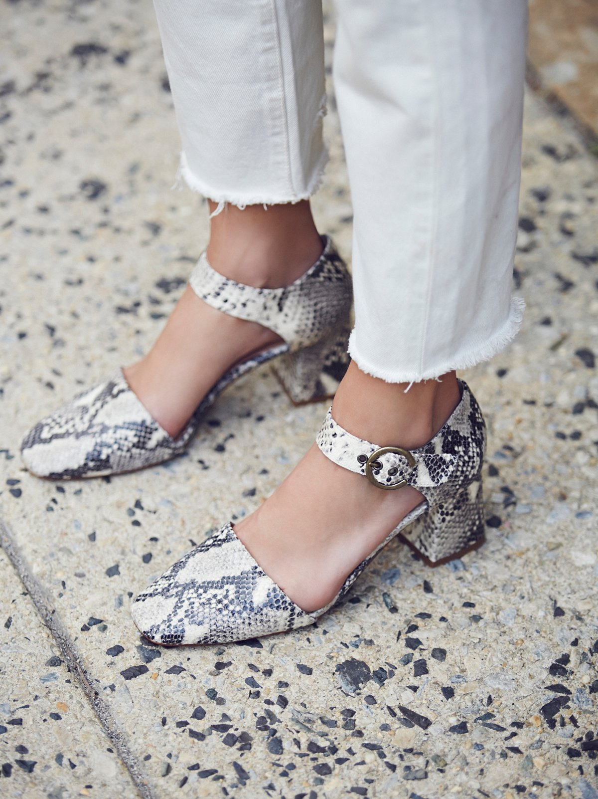 Bardot Block Heel