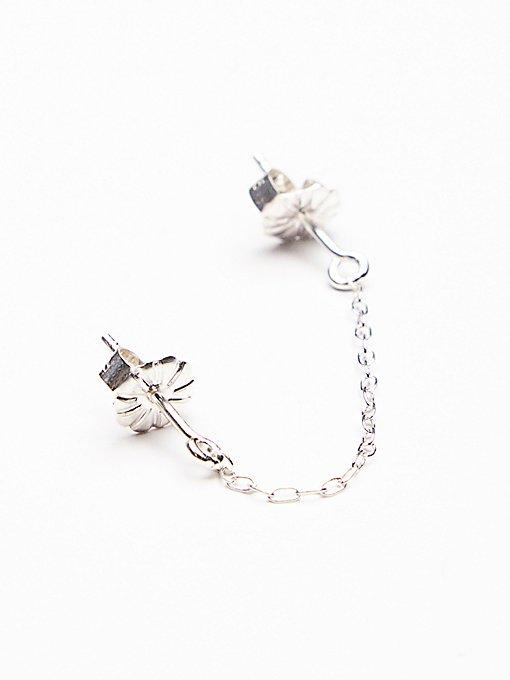 Product Image: 垂坠式双头链条耳环