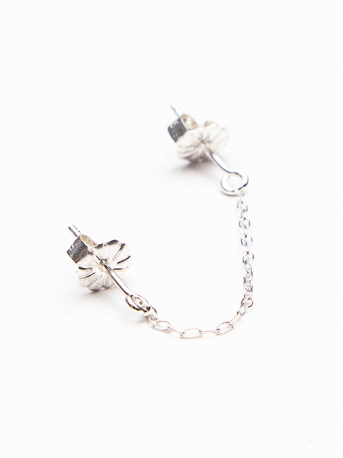 Swag Double Post Chain Earring