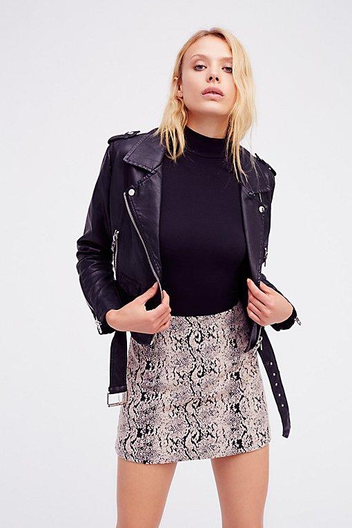 Product Image: Squad Goals Vegan Leather Jacket