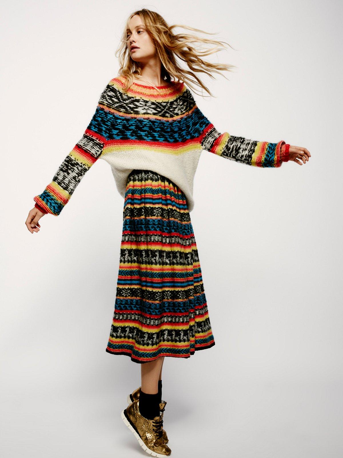 Gabor针织半身裙