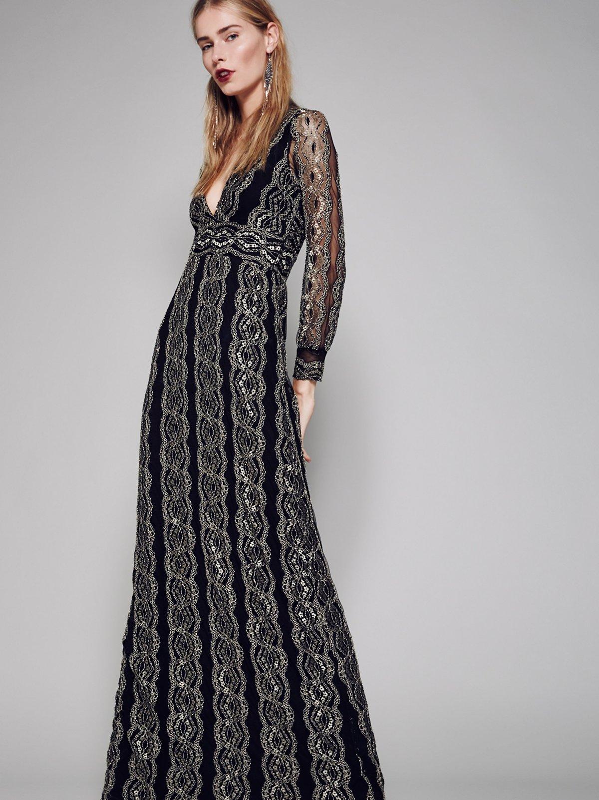 摩洛哥蕾丝礼服