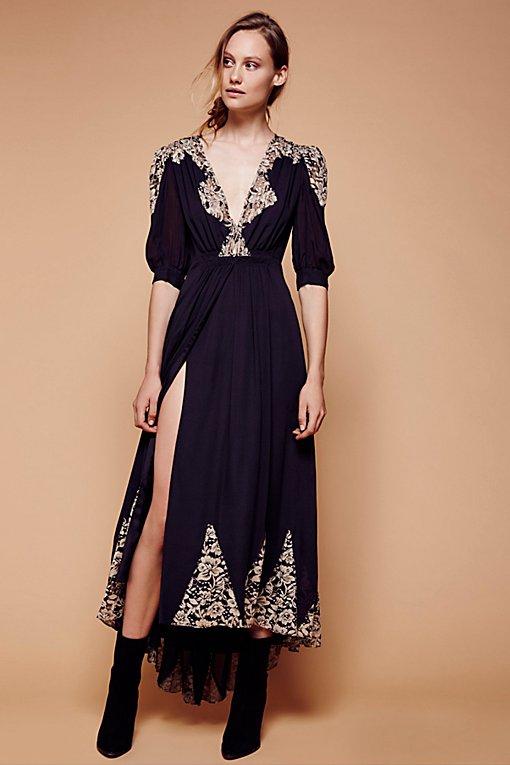 Product Image: Antique Lace Wrap Gown