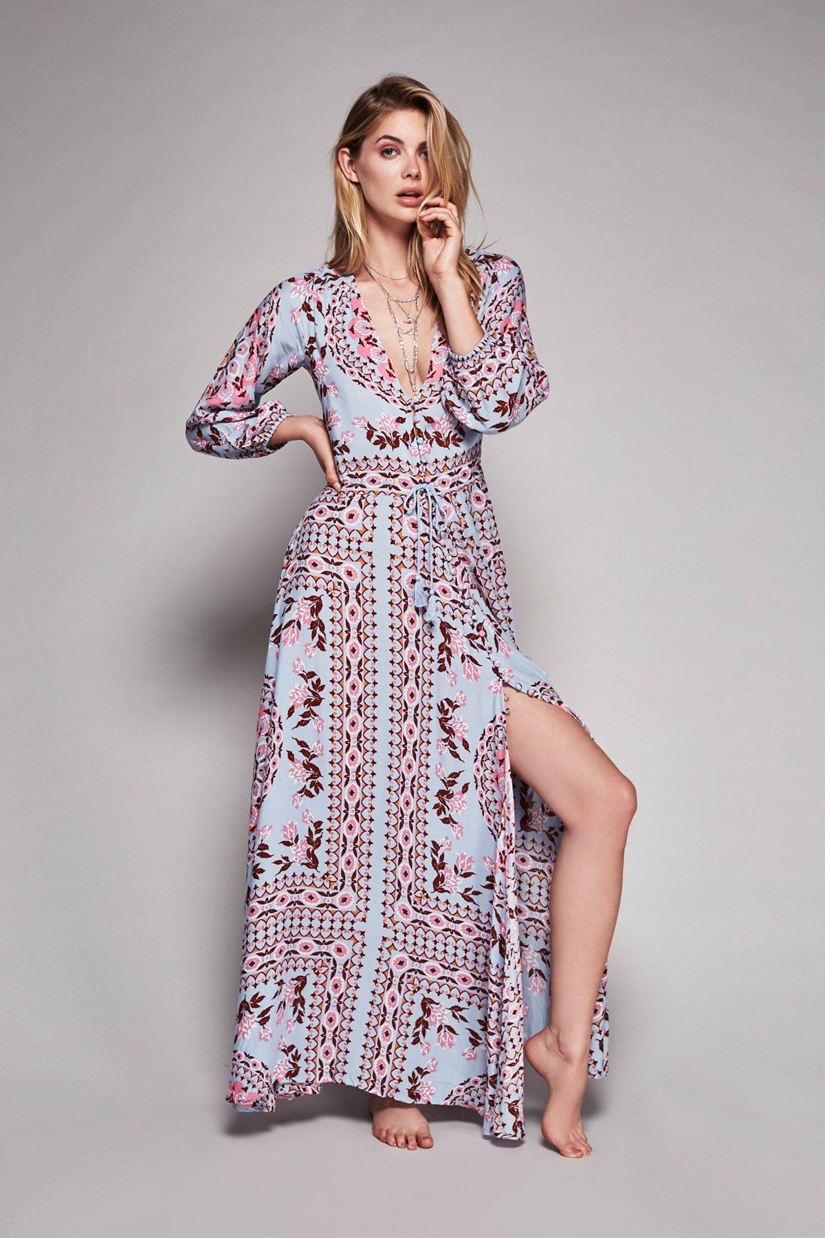 Pandora Printed Gown